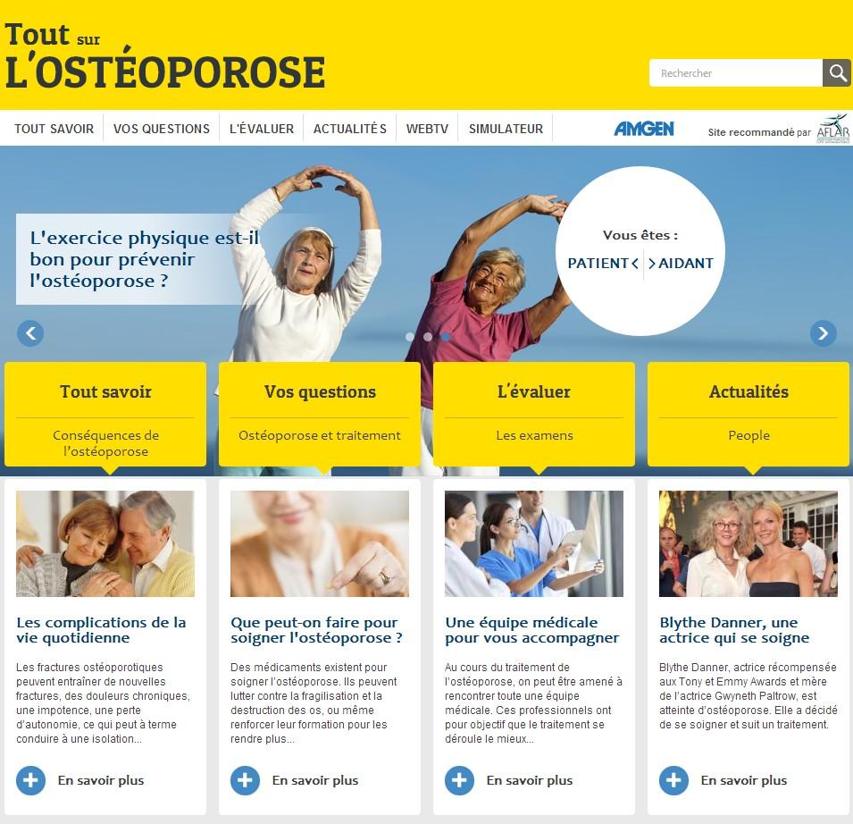 Tout sur ostéoporose