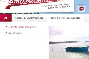 Un nouveau site pour les voyageurs intolérants au gluten
