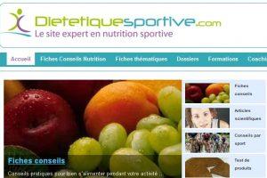 Dietetiquesportive.com : conseils nutritionnels gratuits pour le sport
