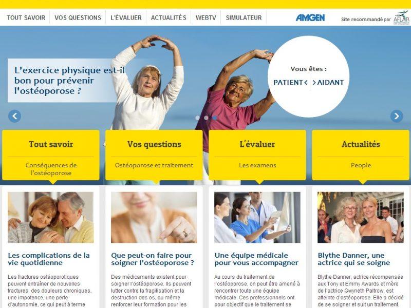 Un site d'information gratuit sur l'ostéoporose : Tout sur l'ostéoporose